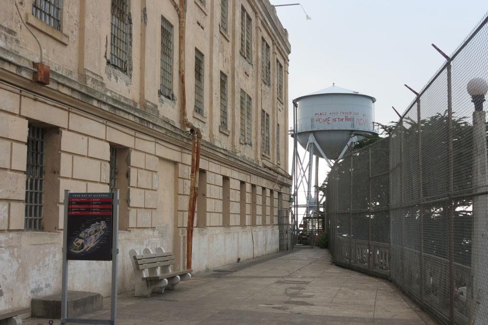 Por dentro da prisão de Alcatraz (Foto: Tati Sisti)