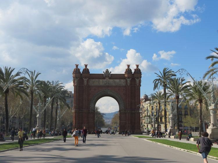 Arc del Triomf (Foto: Tati Sisti)
