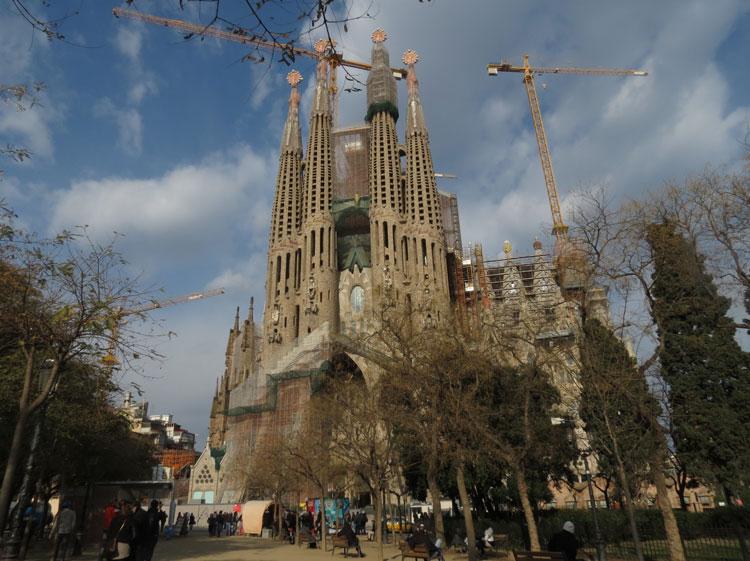 Basílicade la SagradaFamília (Foto: Tati Sisti)