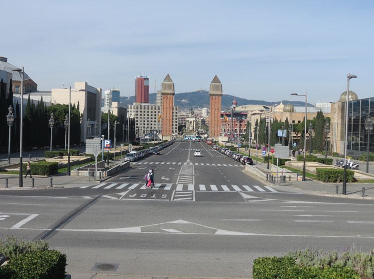 Plaça d'Espanya (Foto: Tati Sisti)