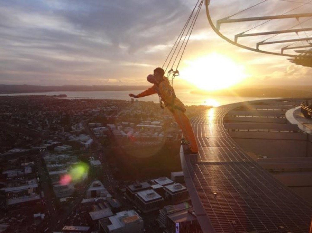 Sky Tower, na Nova Zelândia (Foto: Divulgação)