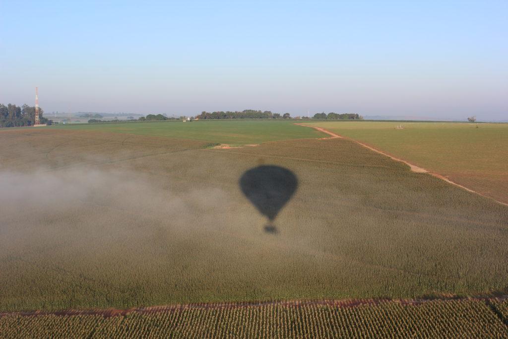 Voo de balão em Boituva, SP (Foto: Gabriel Bester)