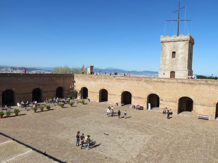 Castell de Montjuïc (Foto: Tati Sisti)