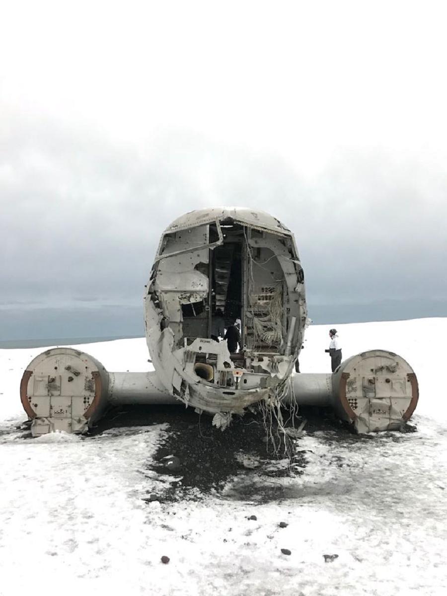 Dakota Wreck, nas Islândia (Foto: Gabriel Bester)