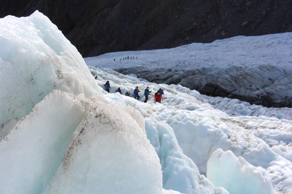 Franz Josef Glacier, na Nova Zelândia (Foto: Tati Sisti)