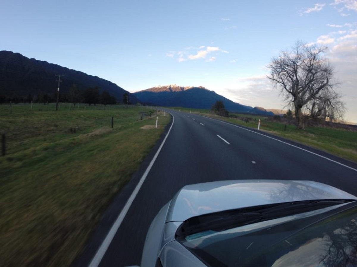 Aluguel de carro na Nova Zelândia (Foto: Tati Sisti)