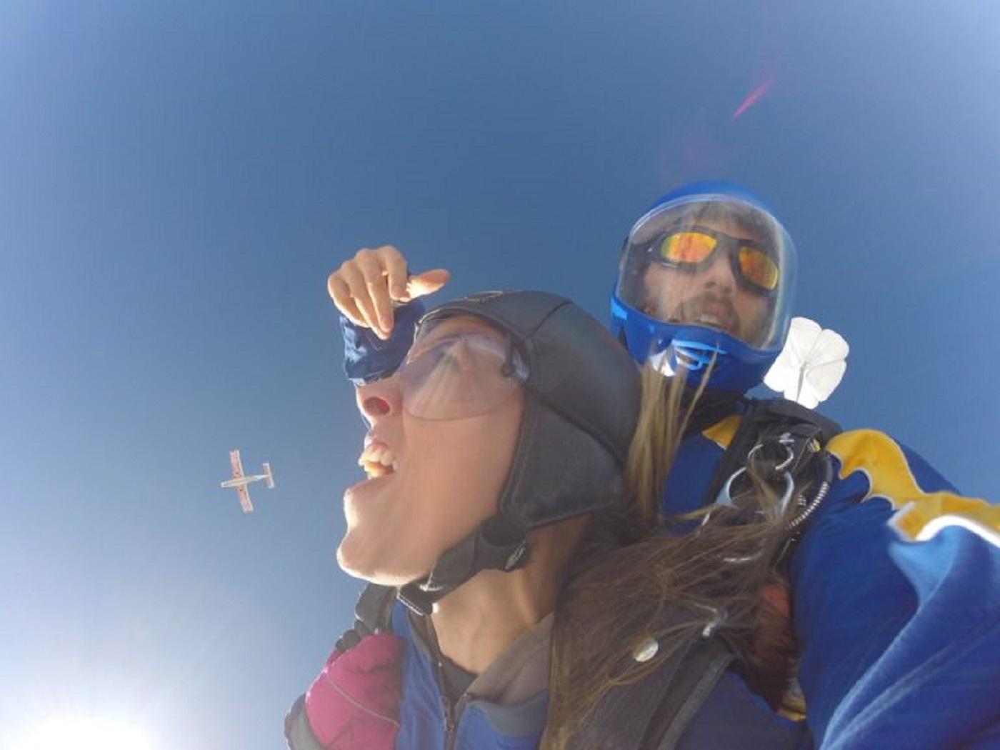 Salto de Paraquedas em Taupo (Foto: Tati Sisti)