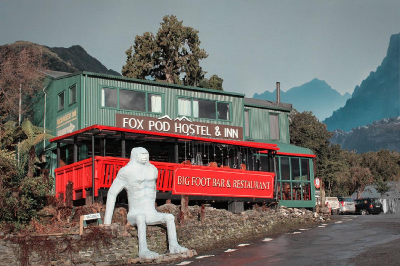 Fox Glacier Pod Hostel & Inn (Foto: Tati Sisti)