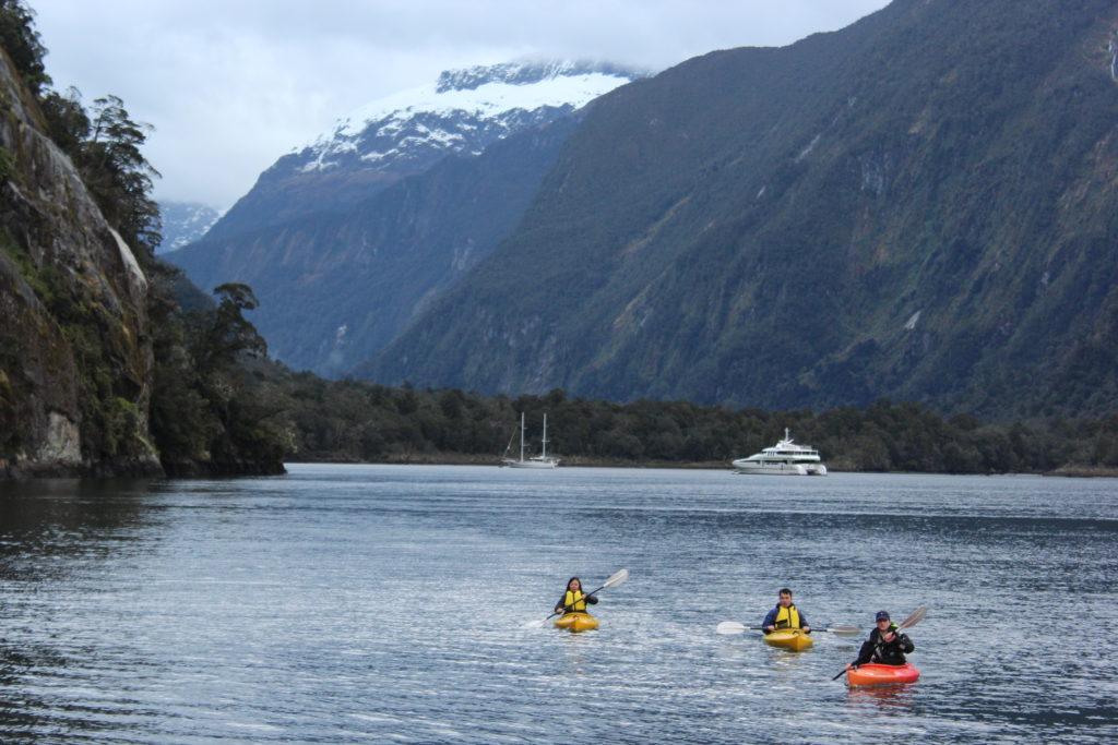 Milford Sound, na Nova Zelândia (Foto: Tati Sisti)