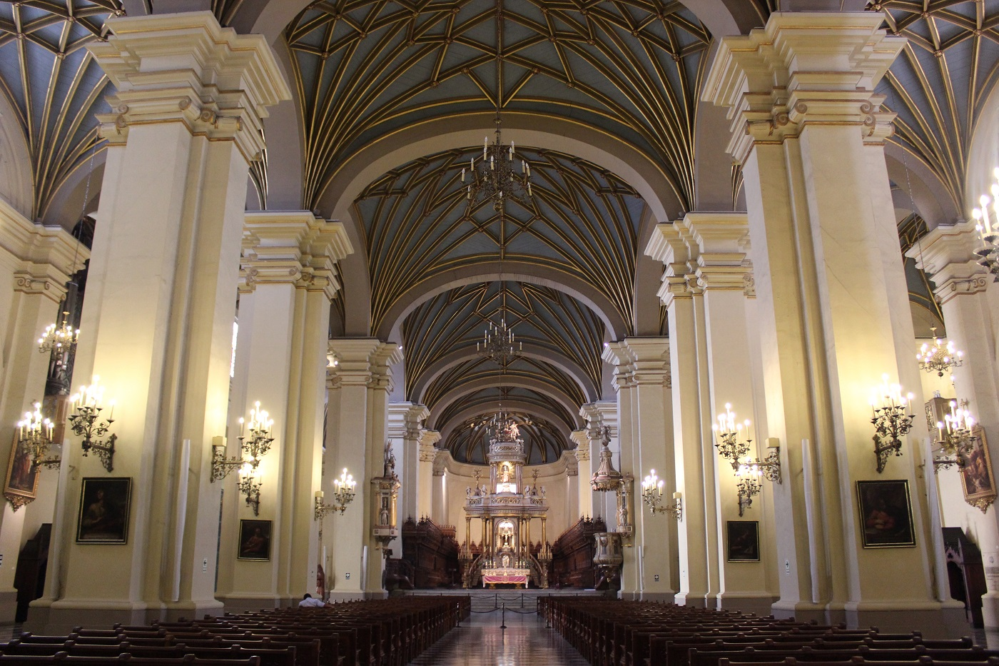 Catedral de Lima (Foto: Tati Sisti)