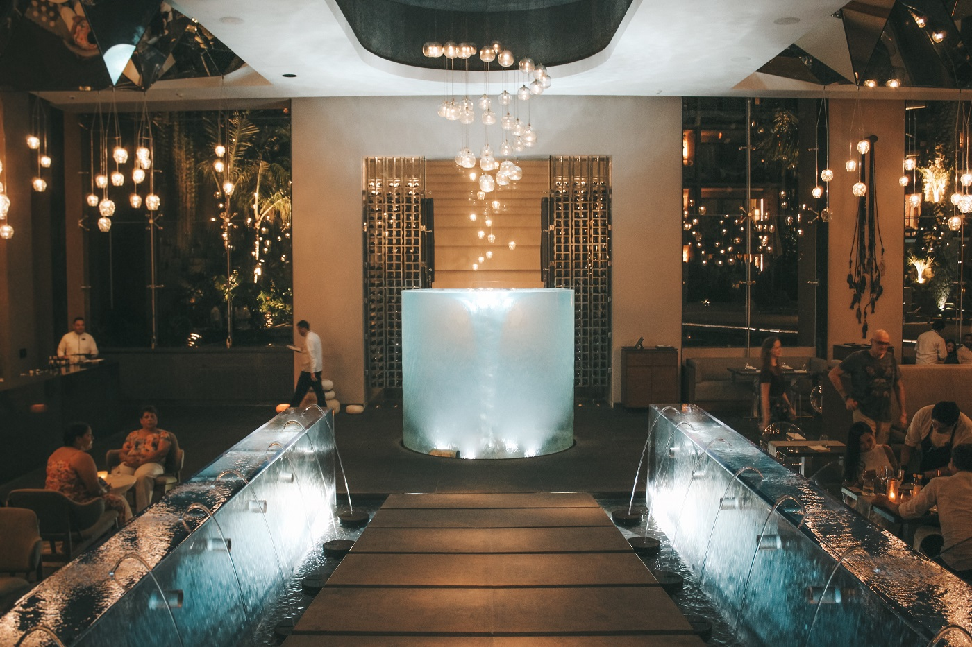 Há, no Xcaret Hotel (Foto: Tati Sisti)