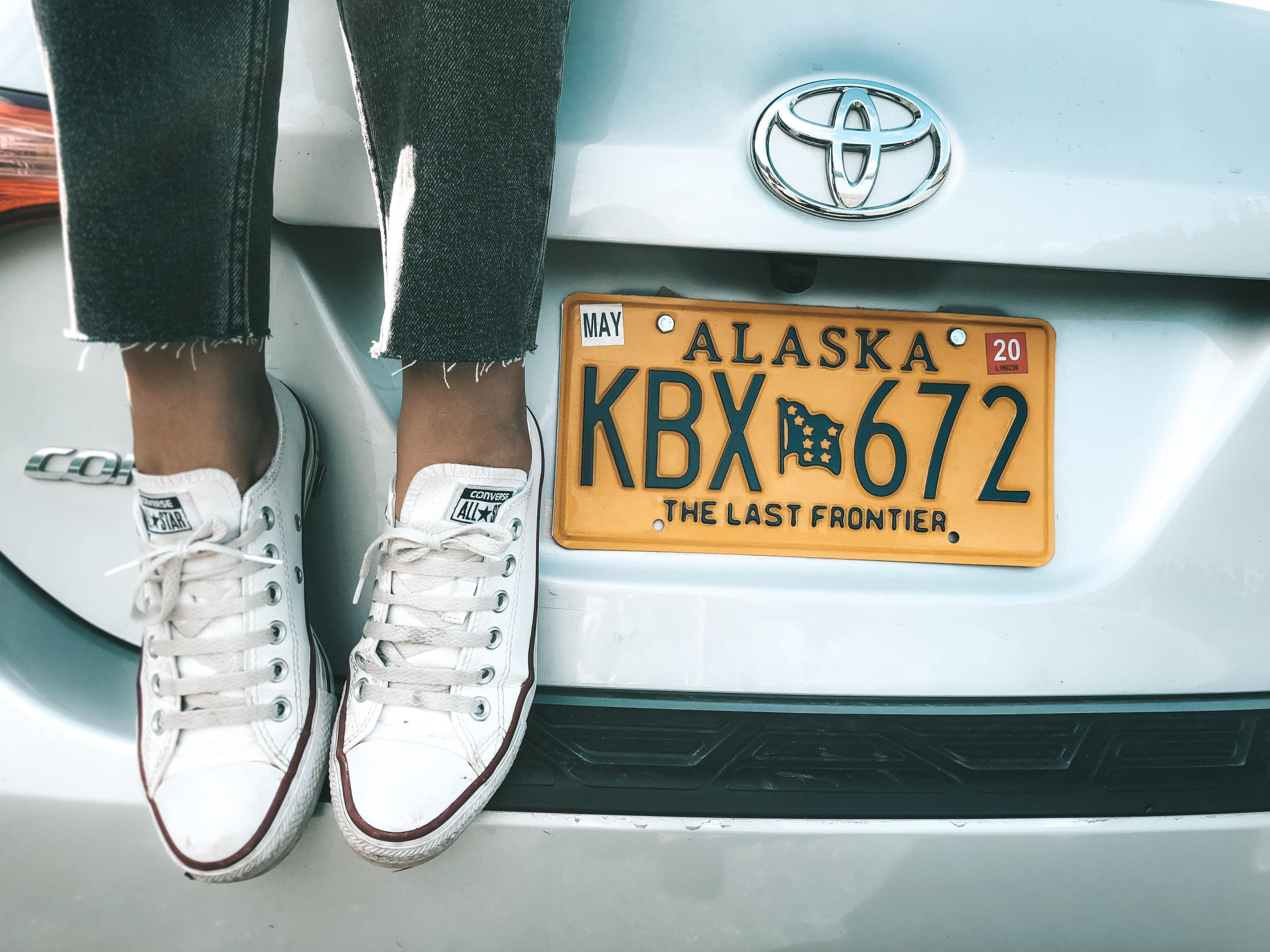 Nosso carro no Alasca (Foto: Trip To Follow)