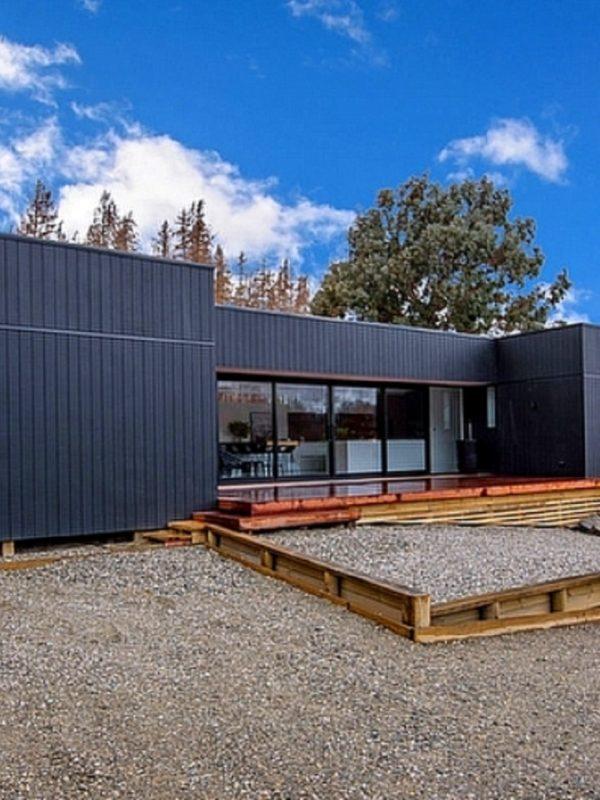 Casa em Queenstown, na Nova Zelândia (Foto: Divulgação)