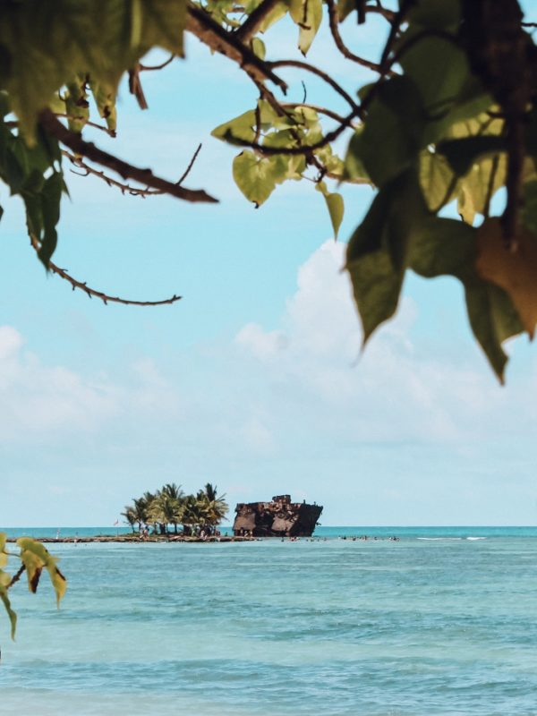Vista de Rocky Cay (Foto: Tati Sisti)