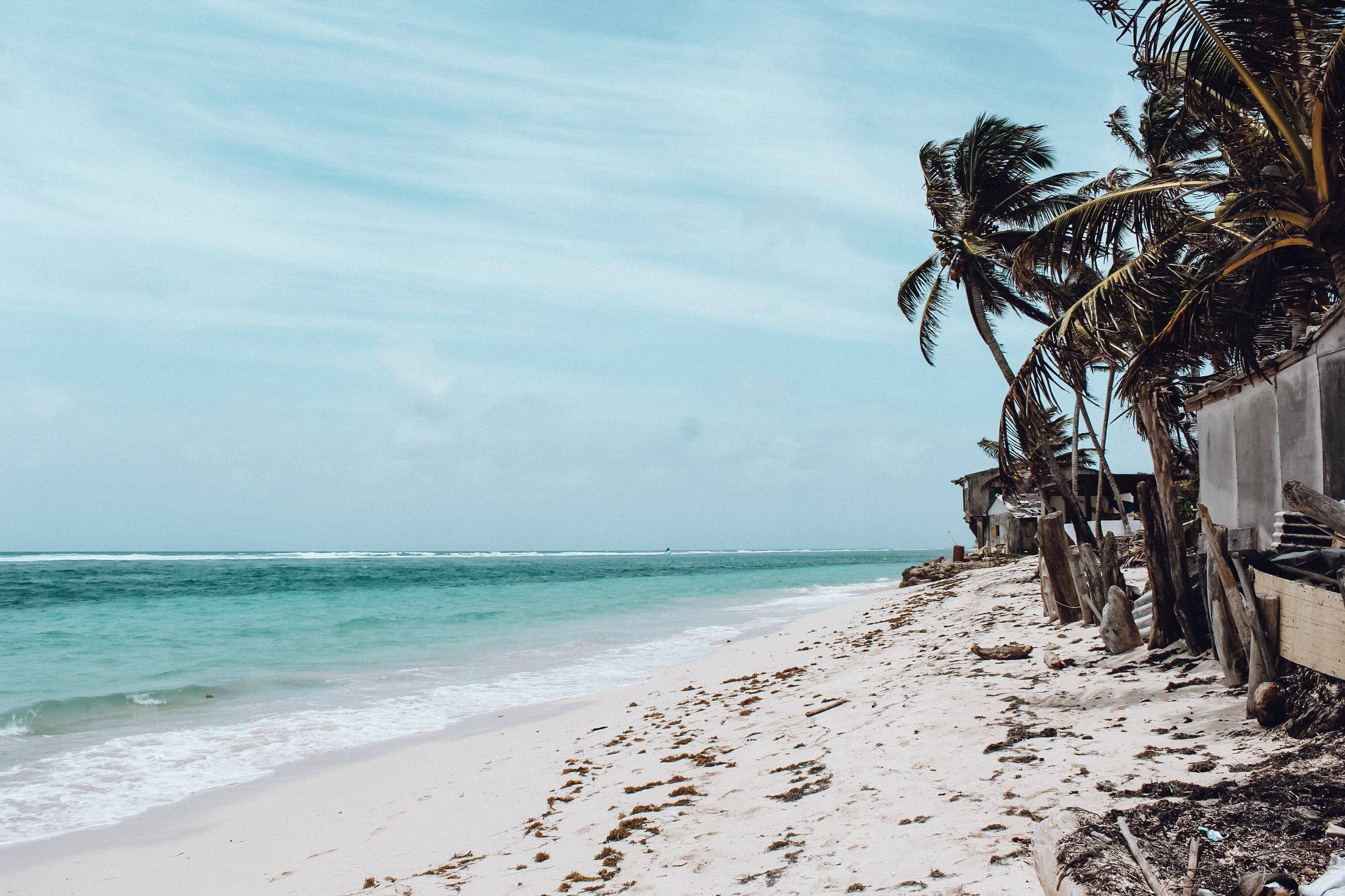 Praia de Sound Bay, em San Andrés (Foto: Tati Sisti)