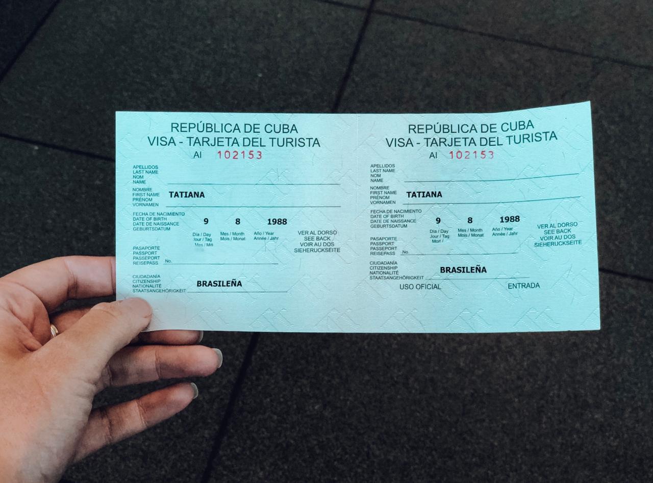 Visto para Cuba (Foto: Tati Sisti)