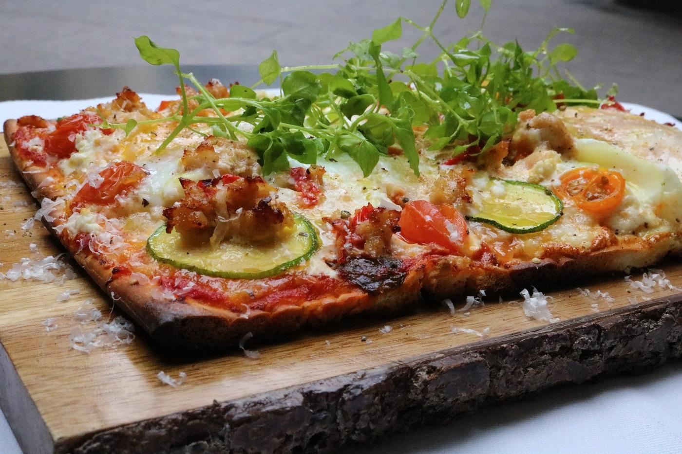 Pizza do Villard Restaurant (Foto: Divulgação)