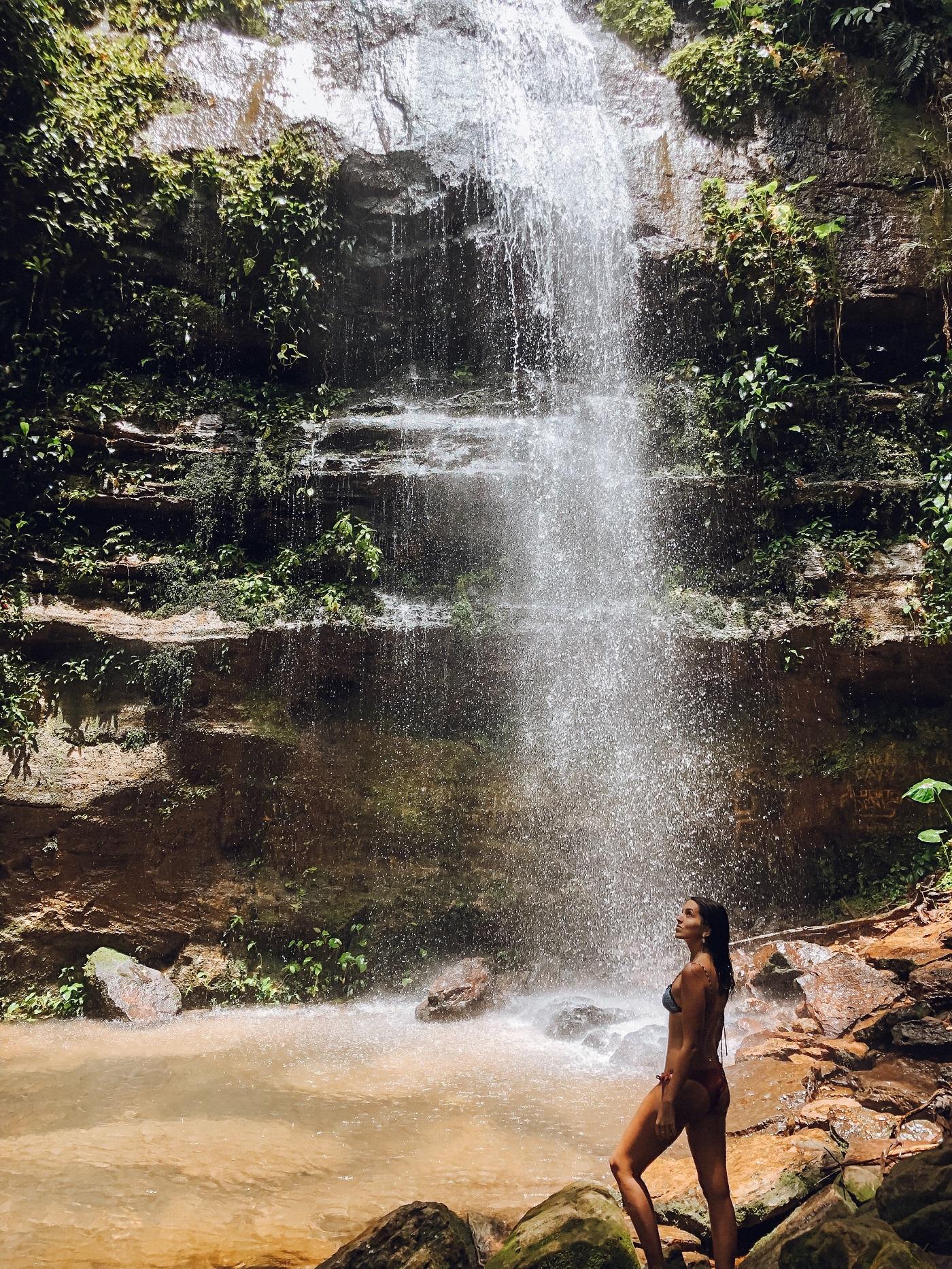 Cachoeira Escorrega Macaco, em Taquaruçu (Foto: Gabriel Bester)