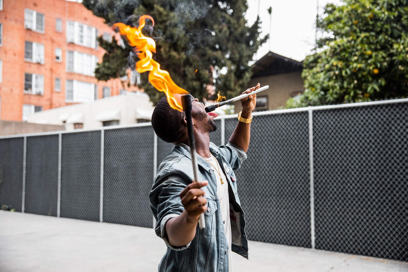 Aprenda a comer fogo (Foto: Divulgação)