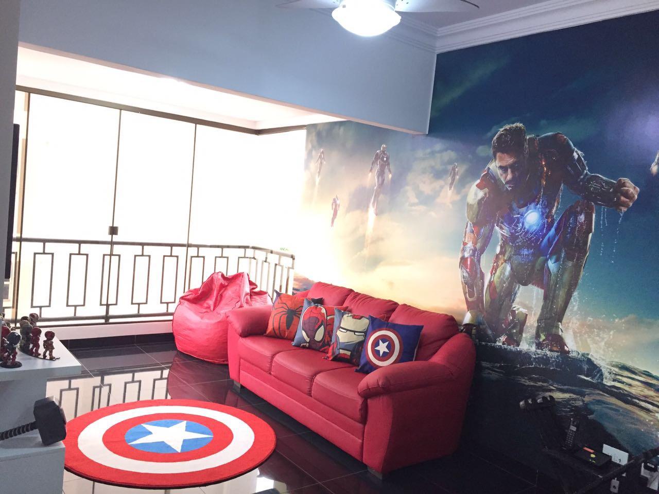 Casa de heróis (Foto: Divulgação)