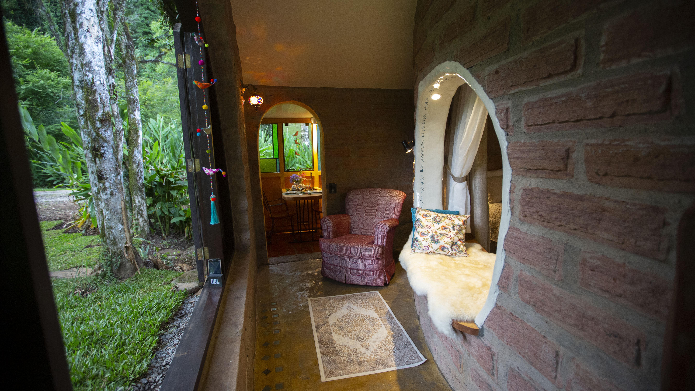 Casa inspirada nas obras de JR Tolkies(Foto: Divulgação)