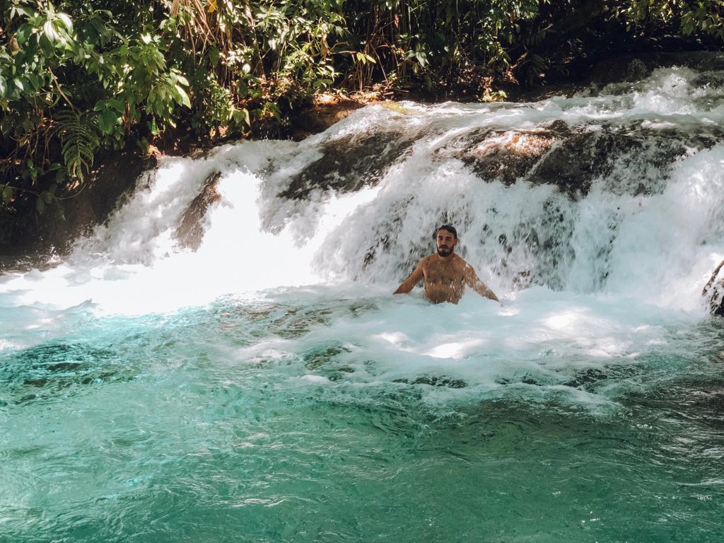 Cachoeira da Formiga, no Jalapão (Foto: Tati Sisti)