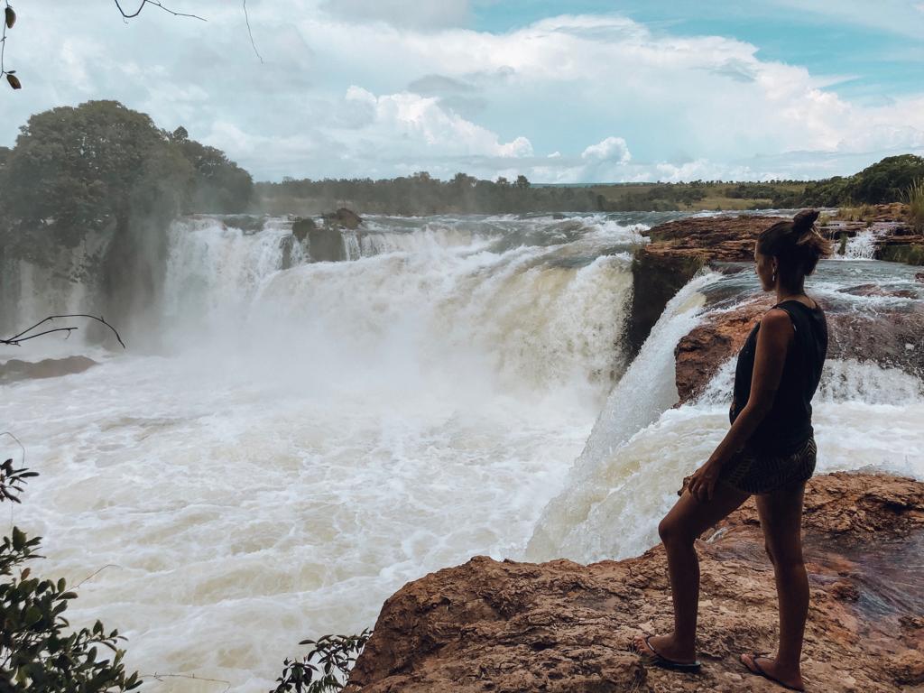 Cachoeira da Velha, no Jalapão (Foto: Gabriel Bester)