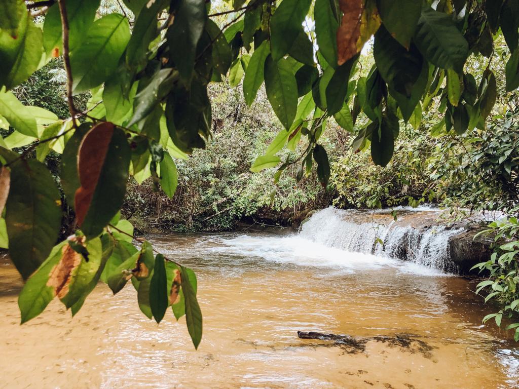 Cachoeira da Pedra Furada, no Jalapão (Foto: Tati Sisti)