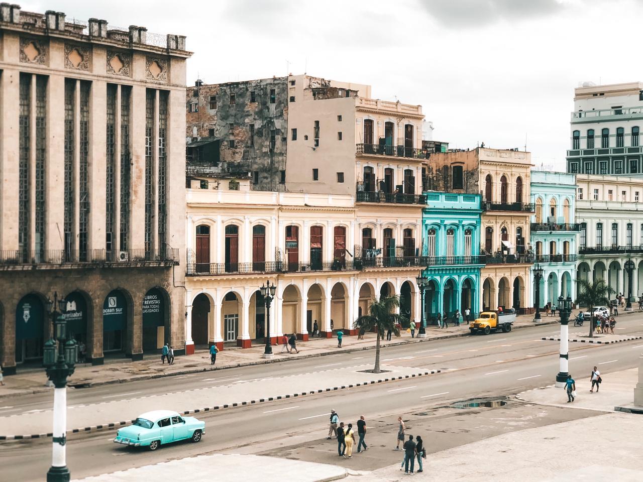 Vista a partir do Capitólio, em Havana, Cuba (Foto: Tati Sisti)