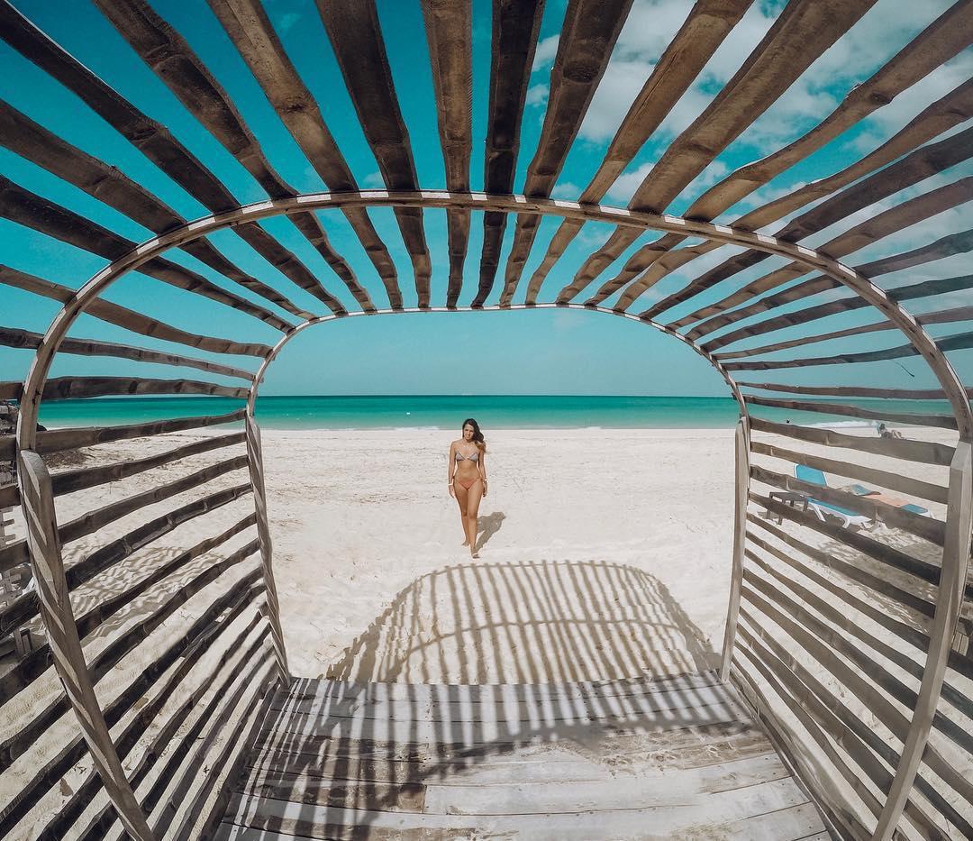Bangalô em Cayo Coco, Cuba (Foto: Gabriel Bester)