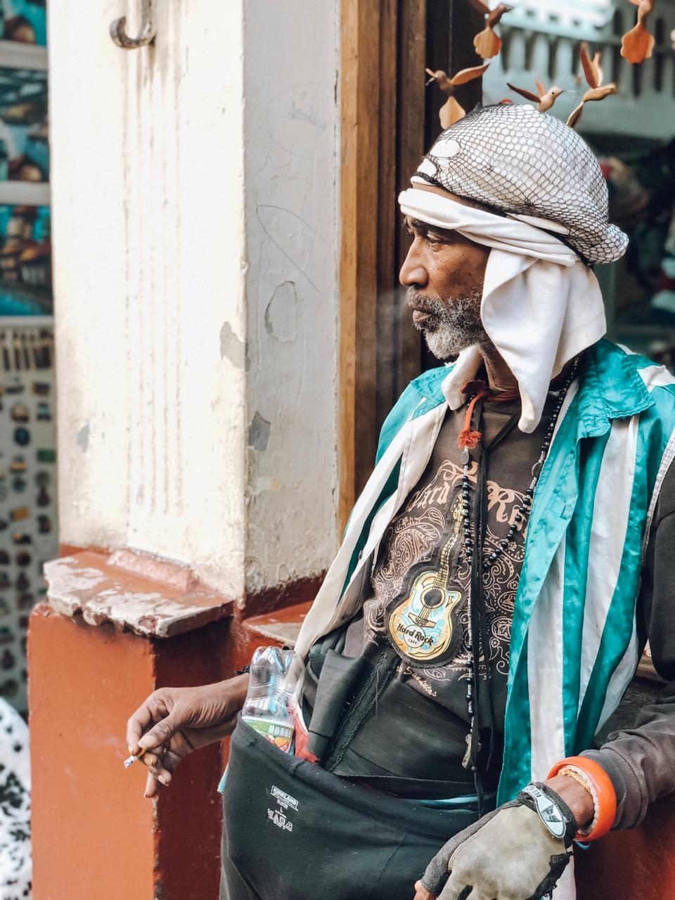 Cubano pelas ruas de Hava (Foto: Tati Sisti)