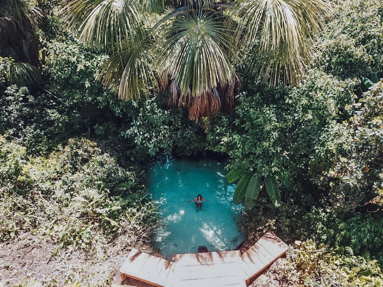 Fervedouro do Rio do Sono, no Jalapão (Foto: Gabriel Bester)