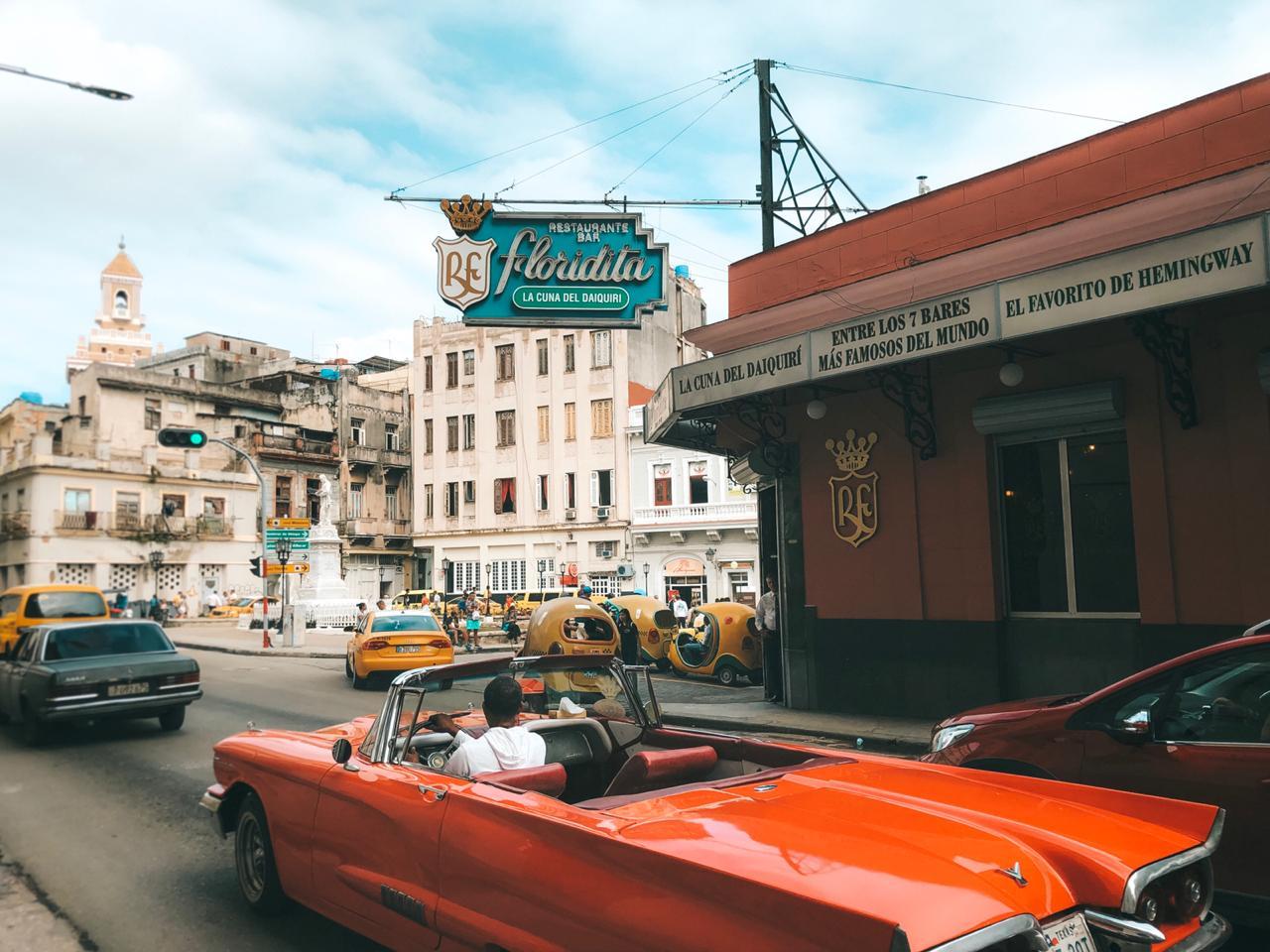 La Floridita, em Havana, Cuba (Foto: Tati Sisti)