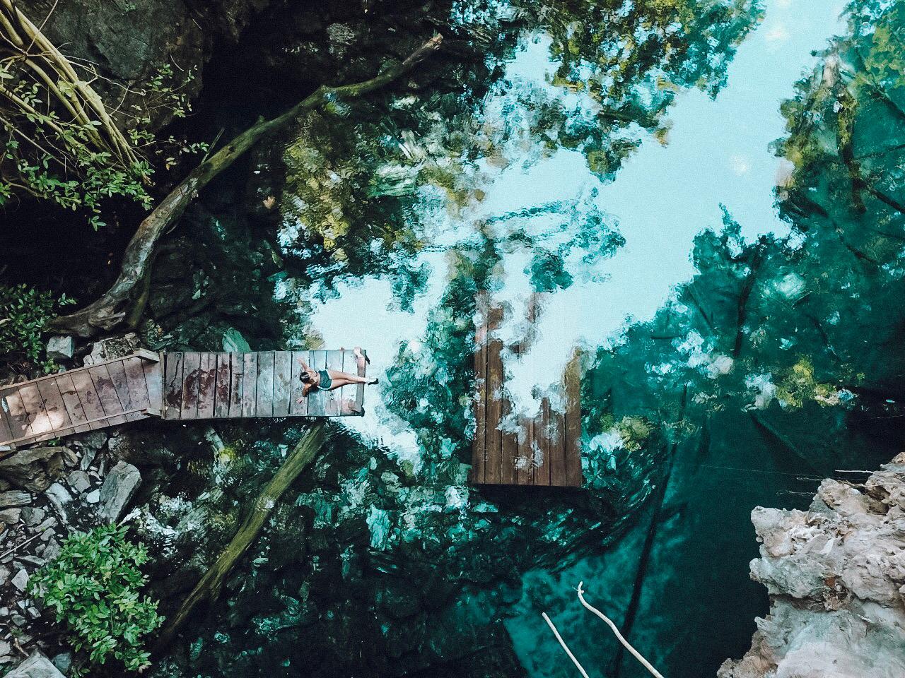 Lagoa do Japonês, no Jalapão (Foto: Gabriel Bester)