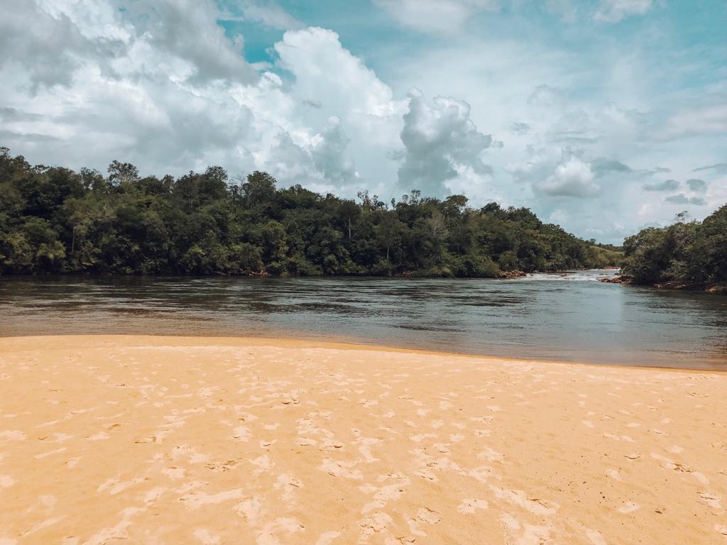 Prainha do Rio Novo, no Jalapão (Foto: Tati Sisti)