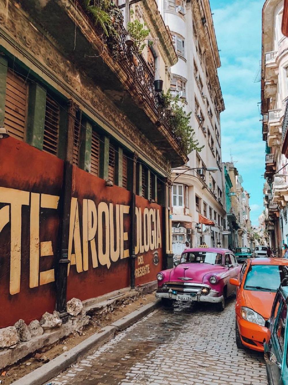 Ruas de Havana, em Cuba (Foto: Tati Sisti)