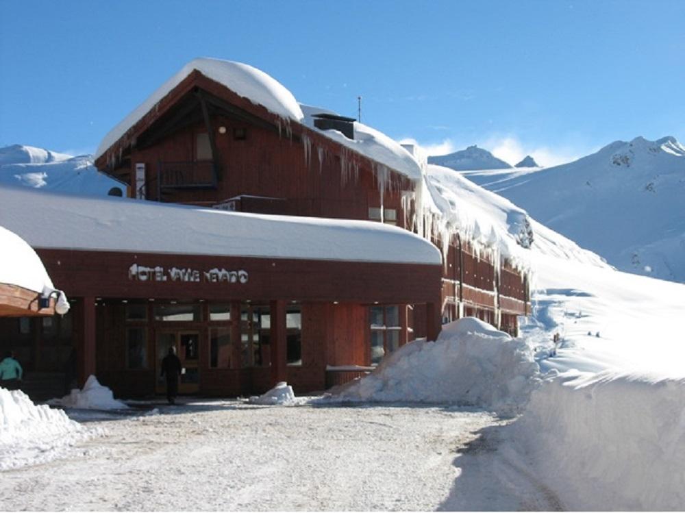 Hotel Valle Nevado, no Chile (Foto: Divulgação)