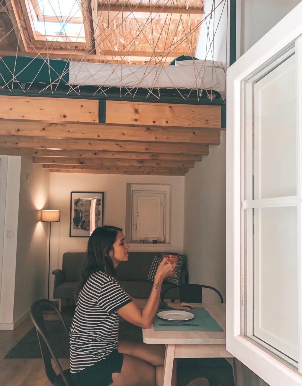 Nossa casa do Airbnb em Lisboa (Foto: Trip To Follow)