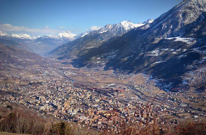 Aosta, Itália (Foto: Divulgação)