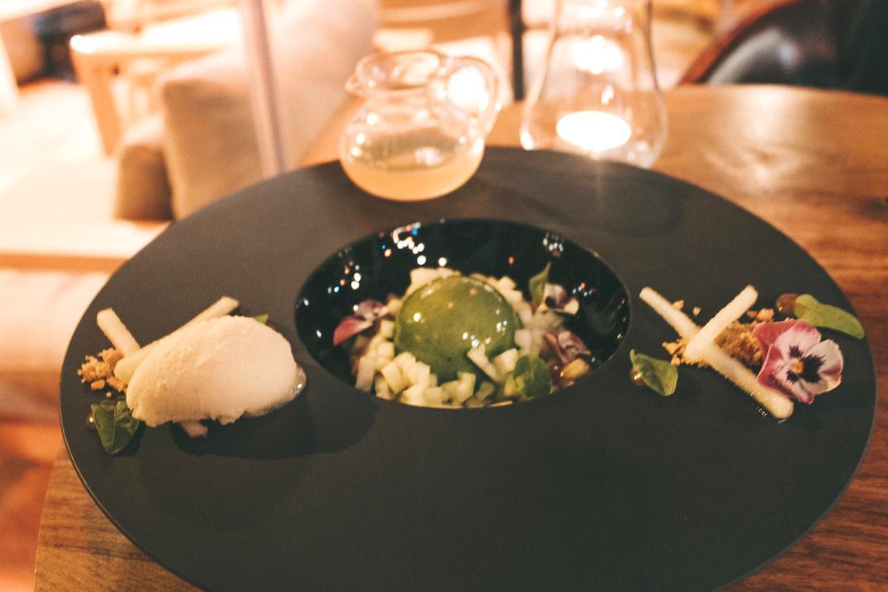 Uma das sobremesas no jantar do SUD Lisboa (Foto: Trip To Follow)