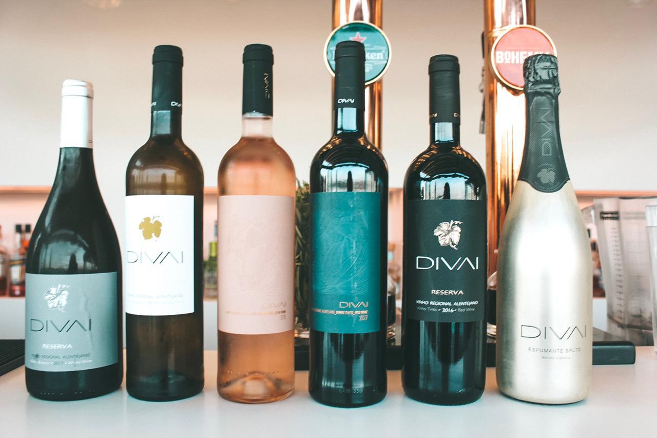 Vinhos Divai, servidos no SUD Lisboa (Foto: Trip To Follow)
