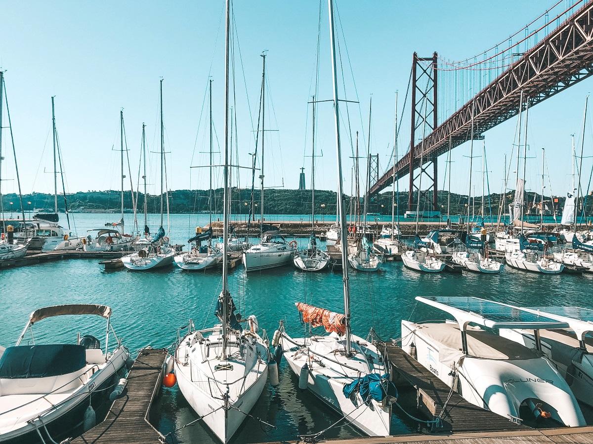 Doca Santo Amaro, em Lisboa (Foto: Trip To Follow)