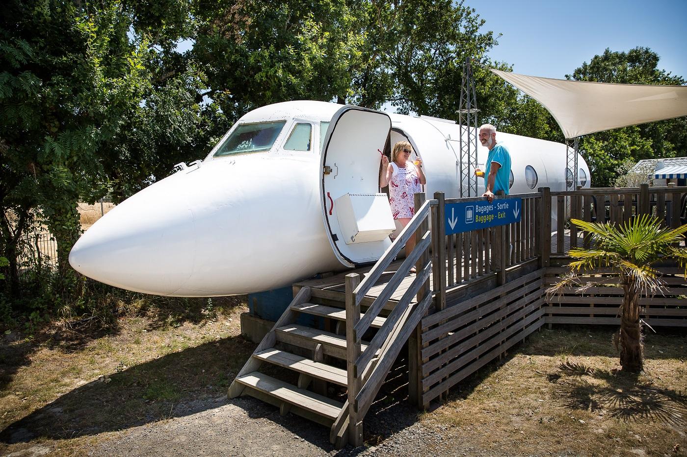Durma em um avião de verdade (Foto: Reprodução)