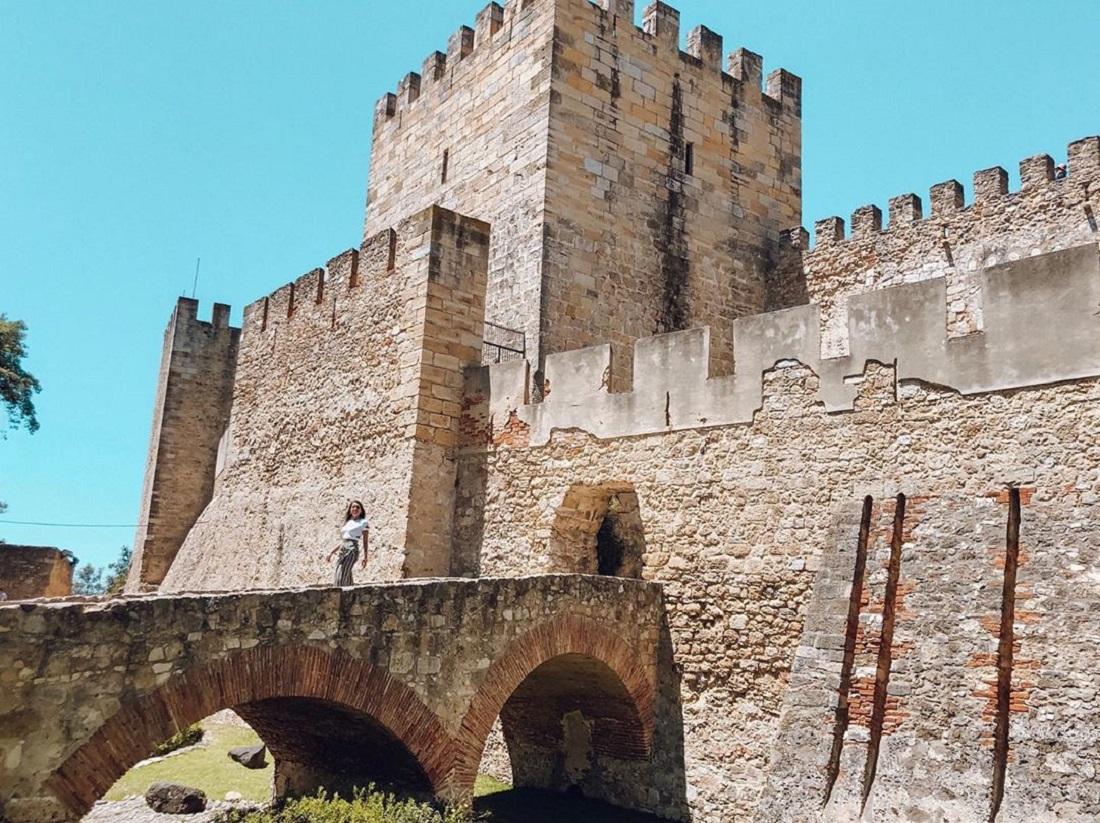 Castelo de São Jorge, em Lisboa (Foto: Trip To Follow)