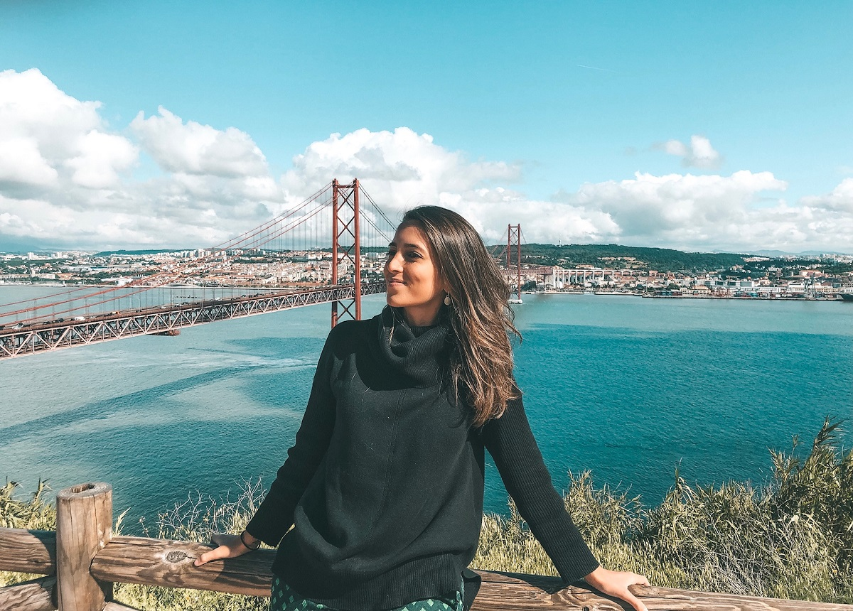 Vista de Lisboa desde o Cristo Rei (Foto: Trip To Follow)