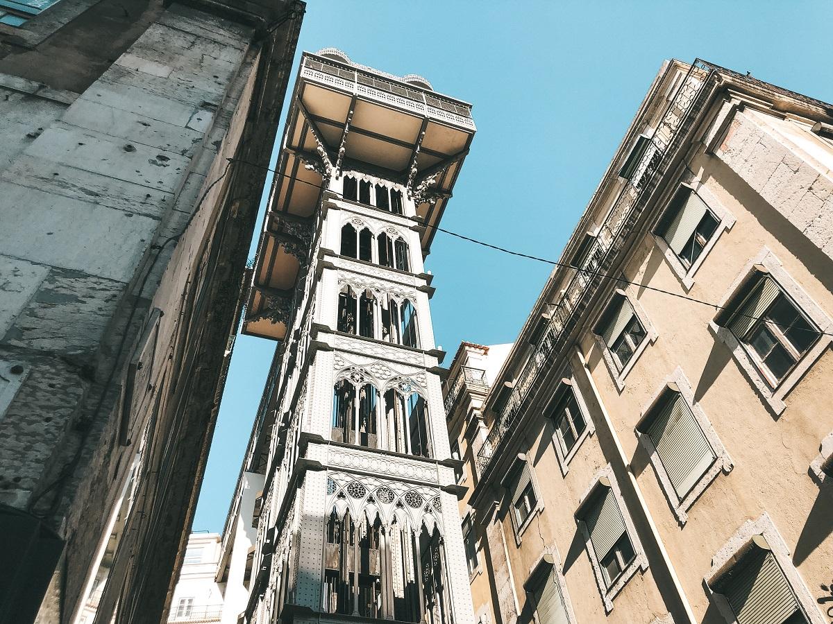 Elevador Santa Justa, em Lisboa (Foto: Trip To Follow)