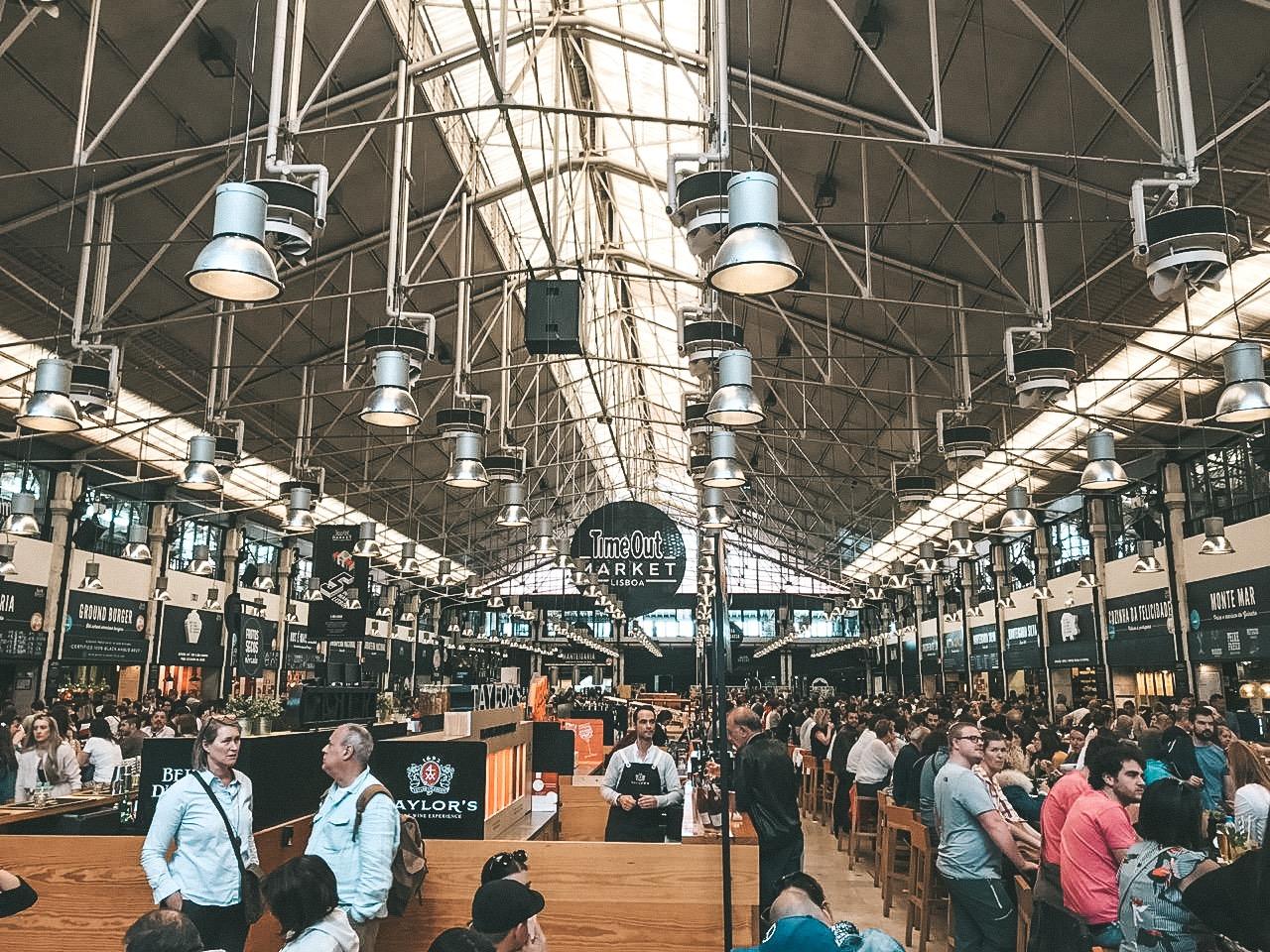 Mercado da Ribeira, em Lisboa (Foto: Trip To Follow)