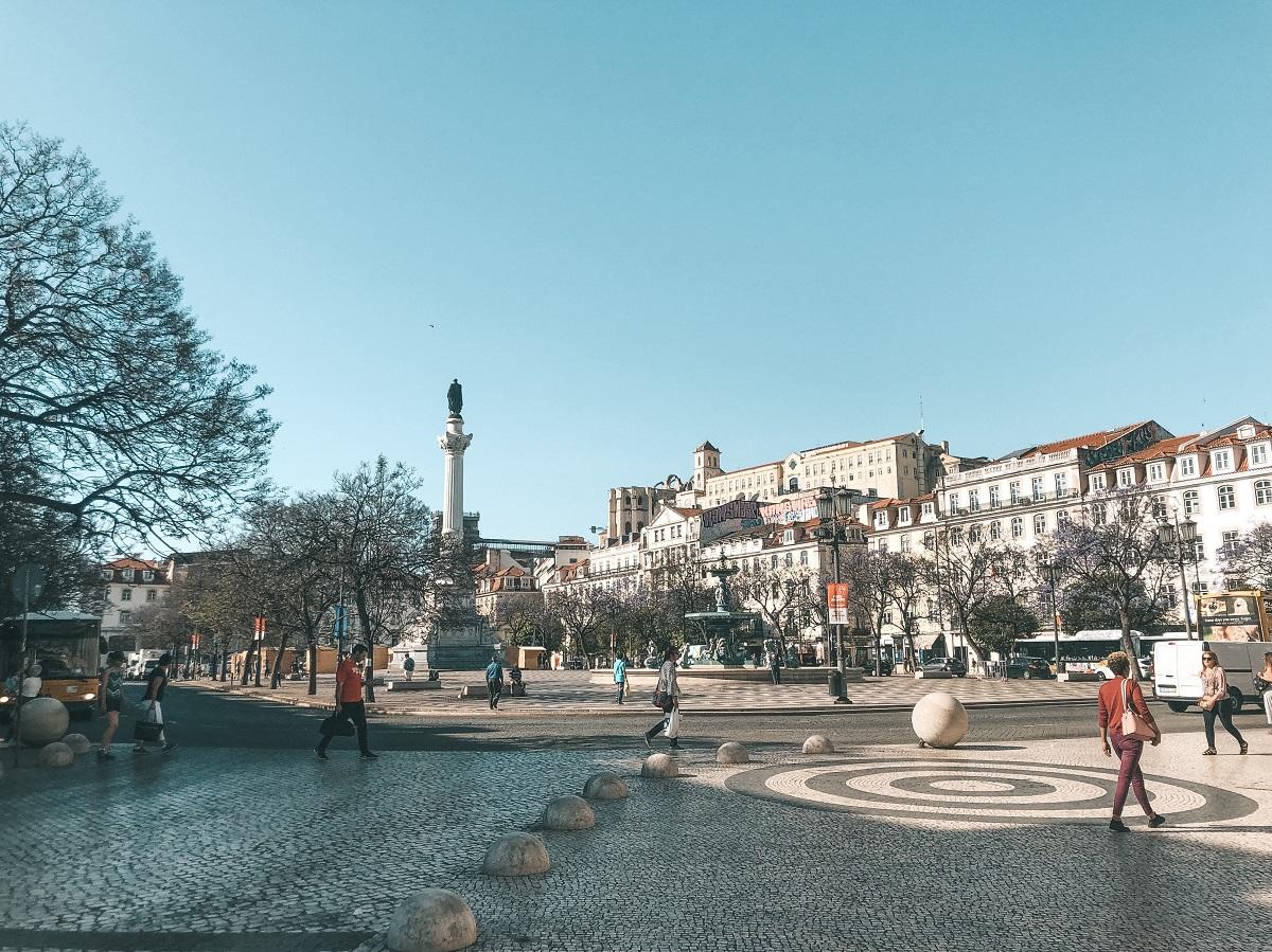 Praça do Rossio, em Lisboa (Foto: Trip To Follow)