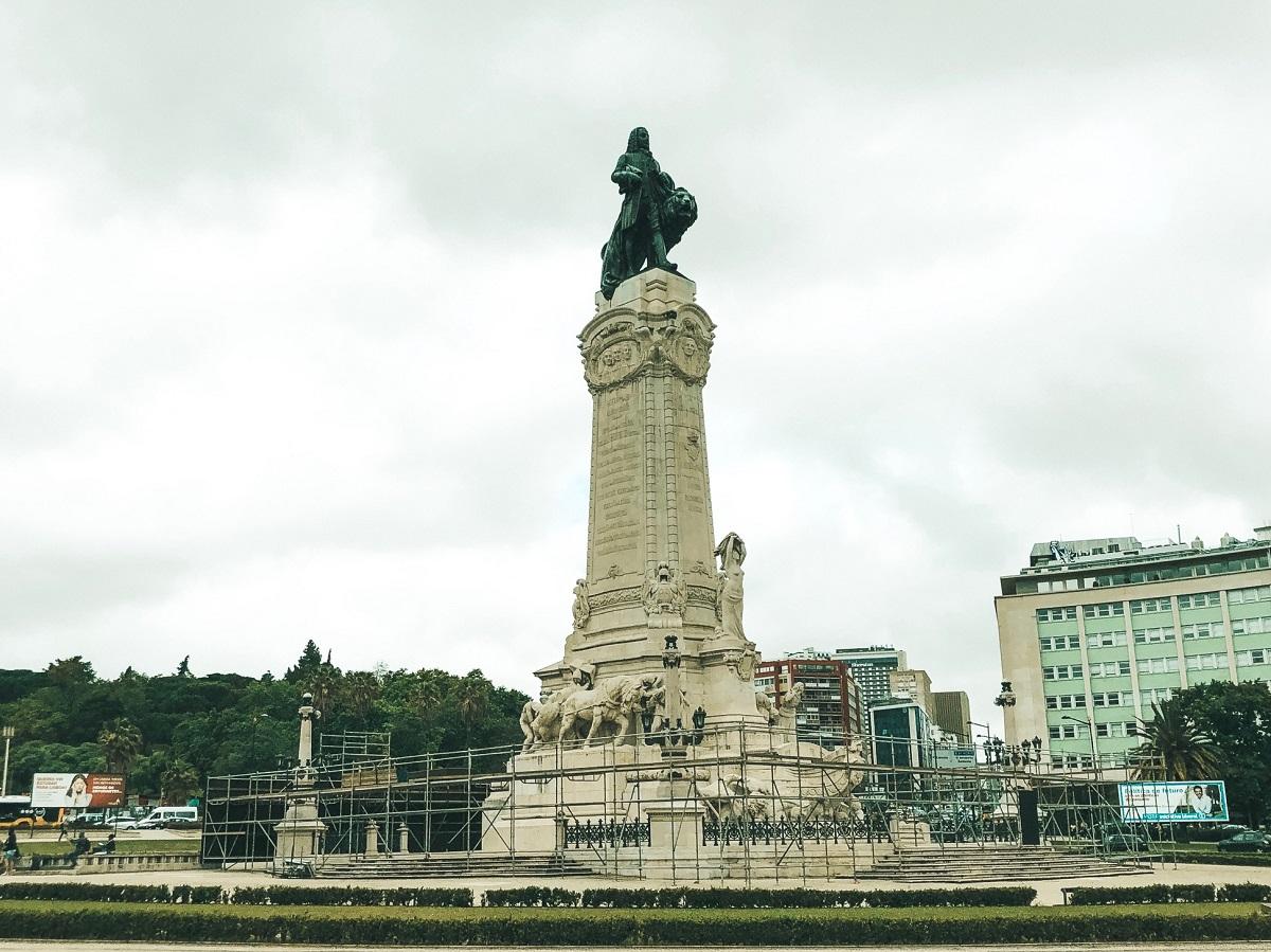 Praça Marques de Pombal, em Lisboa (Foto: Trip To Follow)