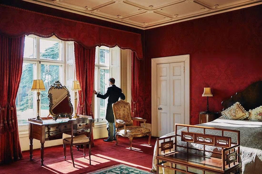 O castelo da série Downton Abbey está disponível para locação pelo Airbnb (Foto: Divulgação)